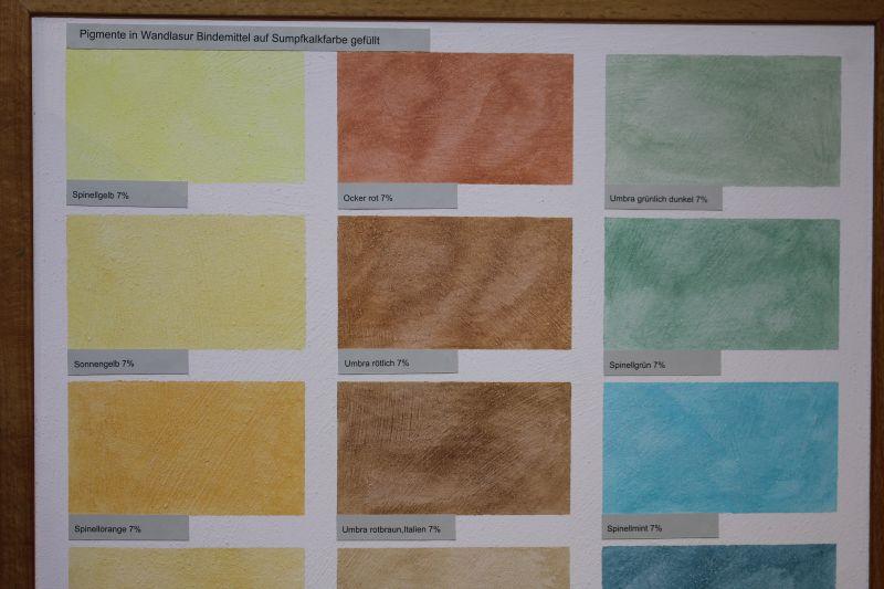 Bekannt Sumpfkalkfarbe traditioneller Anstrich mit Kalk BQ18